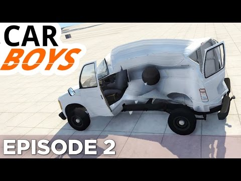 Nick and Griffin Play with Cannons — CAR BOYS, Episode 2