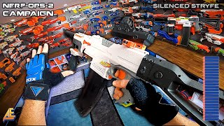 NERF OPS CAMPAIGN | MISSION 1 (Nerf First Person Shooter!)