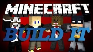 Minecraft Build It (Draw My Thing) Minigame w/ xRPMx13, GoldSolace and TheCampingRusher