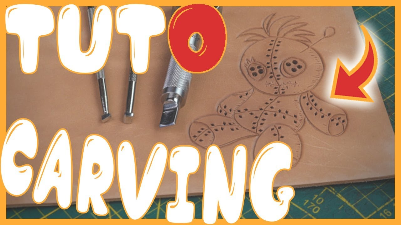 Tout Savoir Sur Le Cuir tuto #cuir: comment faire du repoussage? (dessiner sur du cuir) #carving