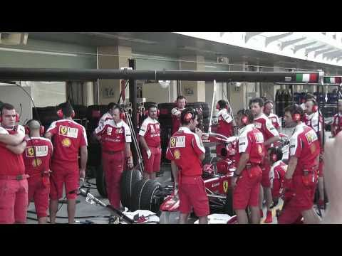 Scuderia Ferrari Abu Dhabi 2010