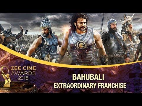 Extraordinary Franchise Award   BAHUBALI   Zee Cine Awards 2018
