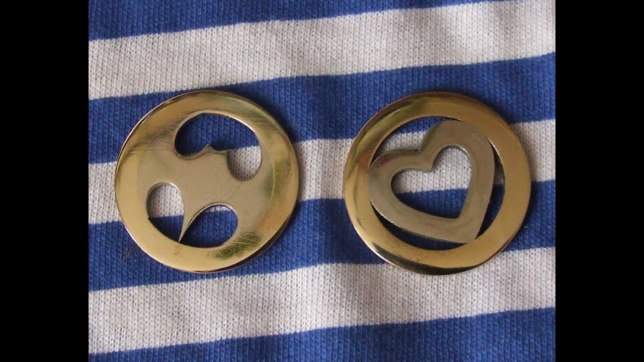 Как сделать медальон из монеты.