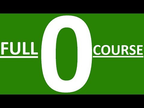 FULL COURSE - LEARN ENGLISH GRAMMAR FROM ZERO. ENGLISH GRAMMAR LESSONS FOR BEGINNERS