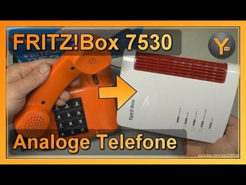 AVM FRITZ! Box 10: Analoge Schnur-Telefone einrichten