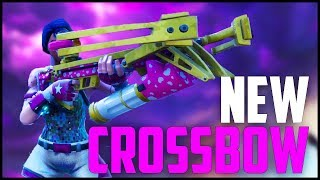 *NEW* CROSSBOW WEAPON UPDATE! - Infinite Ammo?! - My NEW Favorite Weapon in FORTNITE Battle Royale