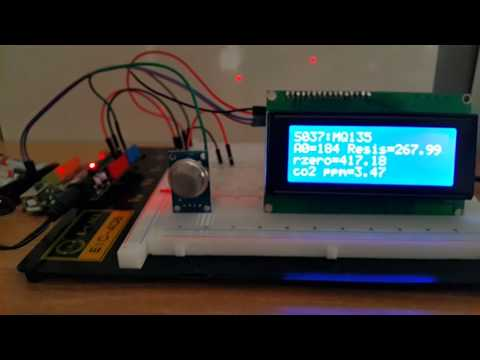 Sensor De Gas Y Aire Mq135 Con Arduino Doovi