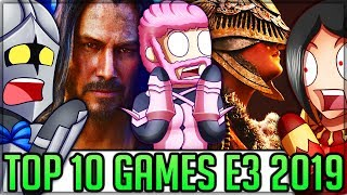 The Top 10 Games at E3 2019! (Winners/Losers/Best New Games) #e3 #e32019