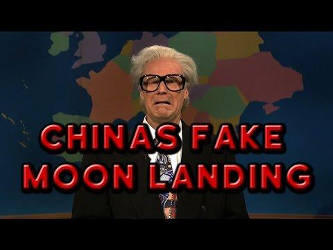 China's FAKE Moon Landing - Flat Earth