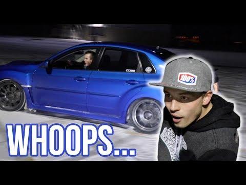 Jake Blew Up His Subaru DRIFTING!!!