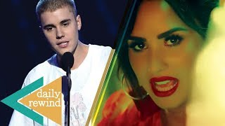 Problems Between Justin Bieber & Shawn Mendes? Demi Lovato Drops Sexy New Music Video -DR