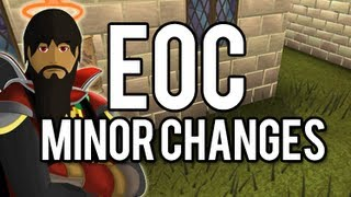 Runescape - EoC: Minor Changes