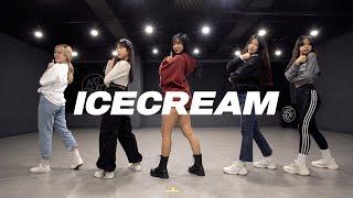 BLACKPINK - Ice Cream (with Selena Gomez)   커버댄스 Dance Cover   거울모드 MirrorMode 연습실 Practice ver.