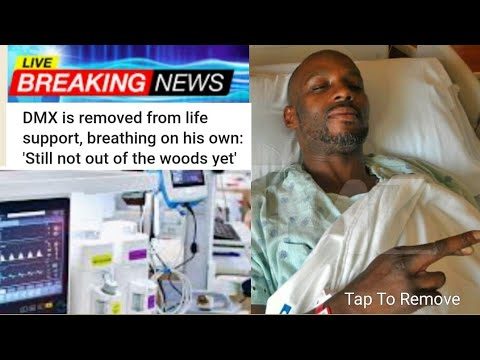DMX's attorney confirms he has been taken off life support & breathing on his  own #Dmxdrugoverdose - YouTube