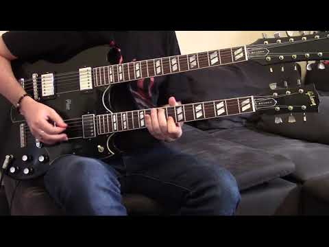 SMKC – The One You Loved Is Gone (guitar cover) with Gibson Slash EDS 1275!!