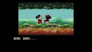 mickey mouse castle of illusion genesis intro