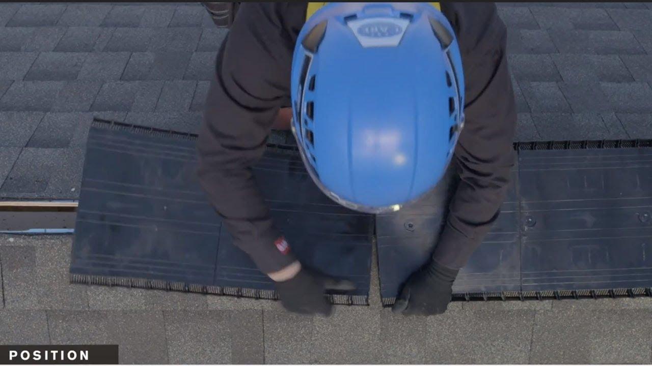 Gaf Pro Series Attic Ventilation Ridge Runner Youtube