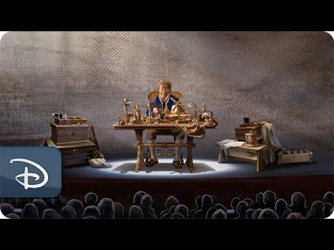Opening the Music Box of 'Beauty and the Beast' | Disney Cruise Line