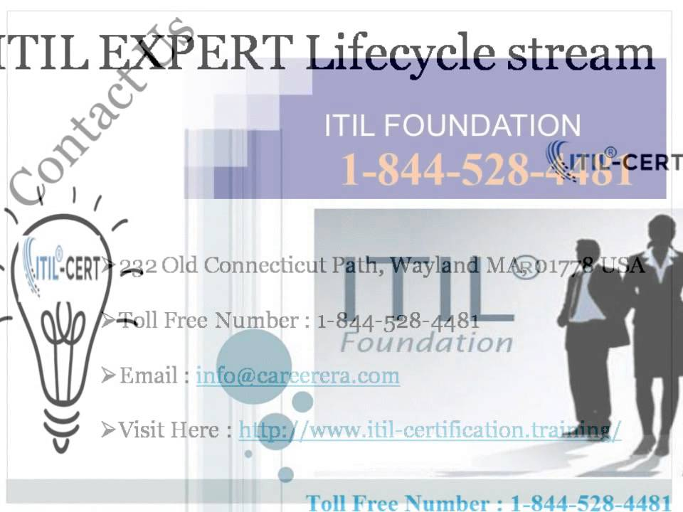 1 844 528 4481 Itil Service Design Sdcertificationtraining