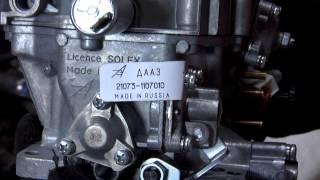 видео Замена карбюратора lada 2107 (ваз 2107)