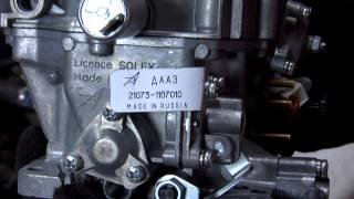 Замена карбюратора на ВАЗ 2101