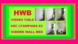 Hwb™® Hidden Table. Arc @tampines Ec.+ Multi-purpose Bench/sofa/coffeetable/kid's Dining &playtable