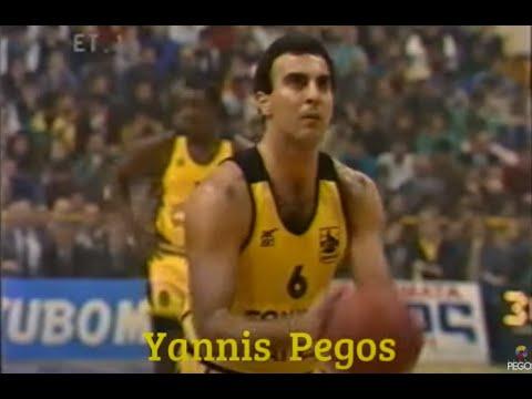 Jugoplastika Split - Aris 85-89 European Cup Champions  25/1/90 ET-1
