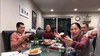 Cuộc Sống Mỹ Vlog 98 ll Gia Đình Sum Họp Và Luyên Thuyên Về Nước Mỹ