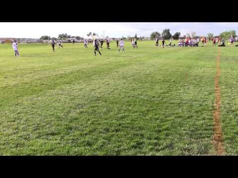 06 CO Storm Select Xavi vs 05 C&C Denver International Football (1st half) 9/5/15