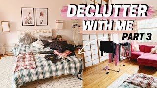 declutter with me 🌞 pt 3 : my guest bedroom