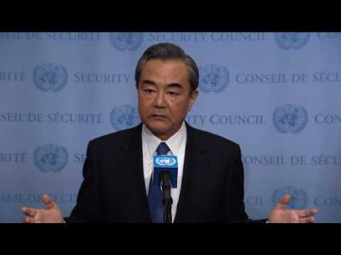 Wang Yi (People's Republic of China) on Non-proliferation/Democratic People's Republic of Korea