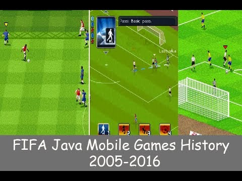 History Of FIFA Java Mobile Games (2005-2016)