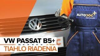 Ako vymeniť tiahlo riadenia na VW PASSAT B5+ [NÁVOD]