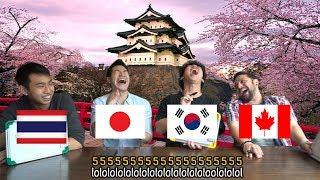 คนต่างชาติ vs สำเนียงคนญี่ปุ่น (ระดับความยาก: Hardcore)