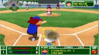 Backyard Baseball 2001 - Single Play Shenanigans
