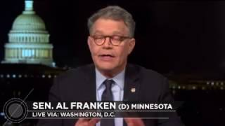 Bill Maher and Al Franken Agree - Supreme Court Seat Stolen by GOP Free HD Video