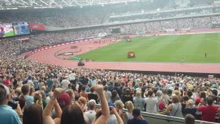 Mo Farah new world record run 5km 23/7/2016 London
