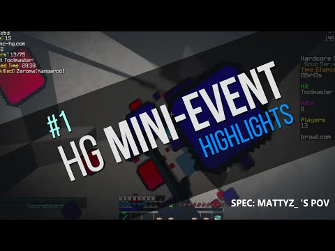 HG Mini Event #1 Highlights