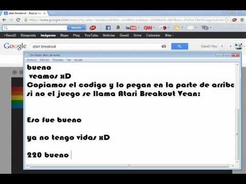 Juego Oculto En Google Imagenes 24 05 2013 Youtube