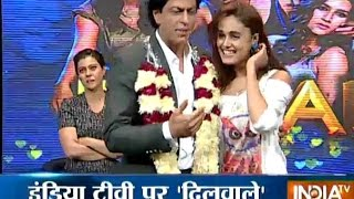 Dilwale: Shah Rukh, Kajol, Varun and Kriti Have Ultimate Fun with Fans
