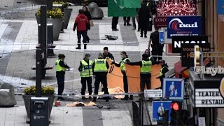 Stockholm Terror compilation video of attack on Drottninggatan April 7 2017 Sweden