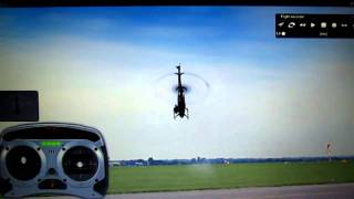 RC helicopter lesson 2  basic forward and backward flight and why its important