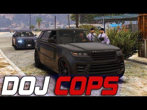 Dept. of Justice Cops #668 - Eeny, Meny, Miny, Moe