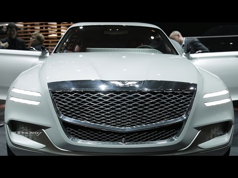 2018 Genesis GV 80 Concept - Detailed Exterior And Interior Walkaround - debut at NYIAS 2017