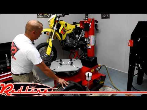 TC450 Tire Changer Machine Demonstration