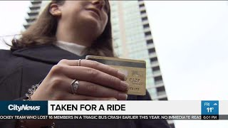Woman loses $3600 in taxi credit card scam