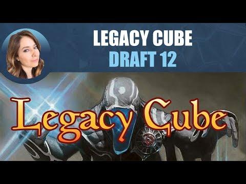 Legacy Cube Draft #12 / Magic: The Gathering
