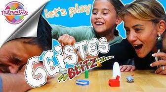 Wir spielen GEISTES BLITZ Karten Spiel - Papa versagt völlig !!! | Mileys Welt