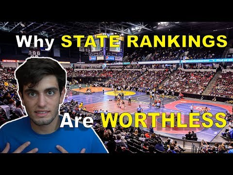 STATE RANKINGS And Why They're Meaningless (High School Wrestling)