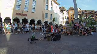 MRS. ROBINSON - Edwin One Man Band  - Annecy - France - 2018